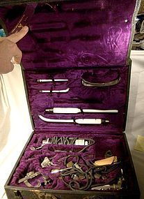 CAMERON SURGICAL SUPPLY CO SURGICAL LAMP FULL KIT c1920