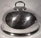 Martin Hall Victorian Silver Plated MEAT DOME