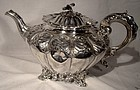 Scarce WILLIAM IV ENGLISH STERLING SILVER TEAPOT 1836