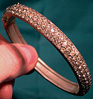 EDWARDIAN Pot Metal PASTE BANGLE c1910-20