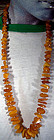 Natural RUSSIAN CHUNK AMBER GRADUATED NECKLACE