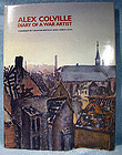 ALEX COLVILLE DIARY OF A WAR ARTIST BOOK Metson Lean Nimbus 1981