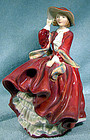 Royal Doulton TOP OF THE HILL HN1834 FIGURINE