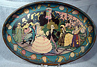 Super ART DECO LITHO SERVING TRAY c1920-30