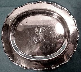 Heavy Howard STERLING SALVER TRAY c1880-1900