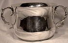 ENGLISH STERLING 2 HANDLE LOVING CUP