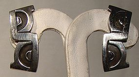 EMMA MELENDEZ Mexican Silver EARRINGS