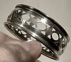 RODEN BROS BIRKS STERLING NAPKIN RING c1920-30
