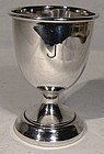 STERLING SILVER EGG CUP - BIRMINGHAM 1917
