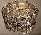 UTIKA GERMANY GILT STERLING FILIGREE BRACELET