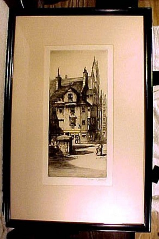 CHARLES H. CLARK John Knox House Ltd. Edit. ETCHING