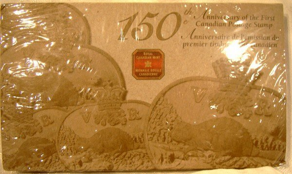 CANADA 150th ANNIVERSARY POSTAGE STAMP COIN SET Sealed!