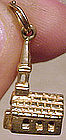 Vintage 10K SOLID GOLD CHURCH CHARM
