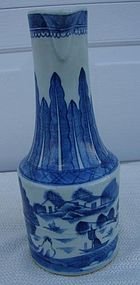 C. 1820 CHINESE EXPORT BLUE CANTON RARE EWER 12