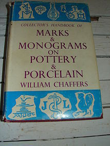 COLLECTOR HANDBOOK,MARKS AND MONOGRAMS