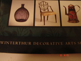 EVALUATING YOUR COLLECTION,WINTERTHUR ARTS