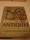 KNOW YOUR ANTIQUES BY KOVEL