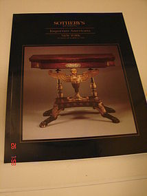 SOTHEBY'S CATALOG NEW YORK,OCT. 23,1994