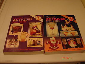 TWO SHROEDER'S ANTIQUES PRICE GUIDES