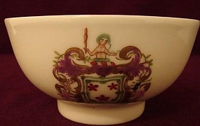 C. 1770 CHINESE EXPORT ARMORIAL BOWL 4 1/2