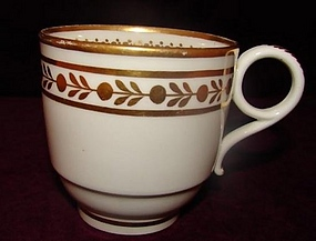 C.1800 WORCESTER COFFEE/TEA CUP