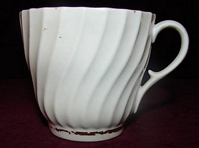 C. 1800 WORCESTER ENGLISH COFFEE/TEA CUP