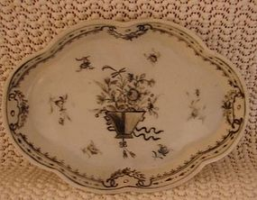 C. 1780 CHINESE EXPORT SPOON TRAY GRASAILES