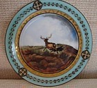 MID-19TH CENTURY POSSIBLY RUSSIAN PLATE 9 3/4