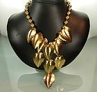 Statement Sonia Rykiel France Drop Necklace Earrings