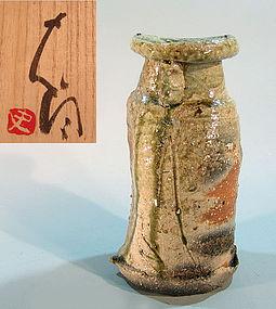 Shigaraki vase by Tsujimura Shiro