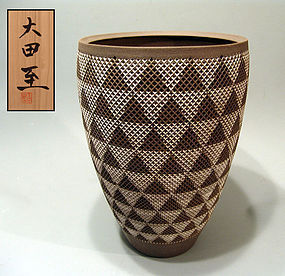 Exhibited Contemporary Vase by Ota Itaru