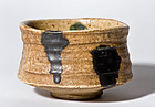 Absolutely rare Kiseto Chawan from the Momoyama Period