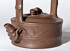 Chinese Zisha Tea Pot made by famous Zhou Guizhen