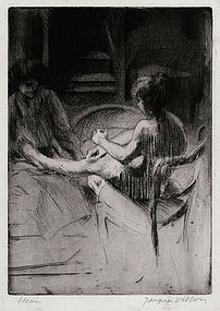 Jacques Villon, Etching,