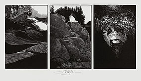 Barry Moser, Wood Engraving,