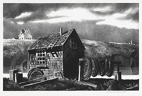 Stow Wengenroth, Lithograph,