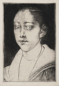 Albert Besnard, Etching,