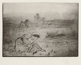 Louis Auguste Mathieu Legrand, Etching,