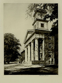 "Chester B. Price, Etching, ""Architectural Study"""