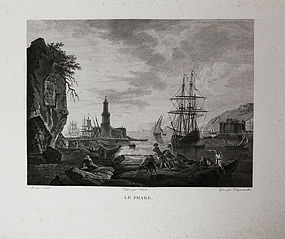 Dequevauviller, engraving,