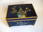 Chinese Gilt Cloisonne Box