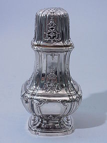 French Silver Classic Design Sugar Shaker