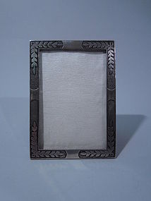 Tiffany American Sterling Silver Picture Frame C 1902