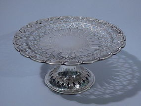 Tiffany American Sterling Silver Compote C 1920