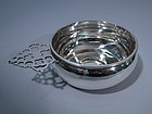Currier & Roby American Sterling Silver Porringer