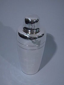 Tiffany American Sterling Silver Cocktail Shaker C 1965
