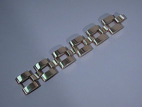 Tiffany 14 Kt Gold Chain Link Bracelet C 1940