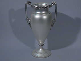 International Sterling Silver Urn Vase C 1920