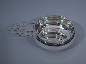 Tuttle Colonial Sterling Silver Porringer C 1955