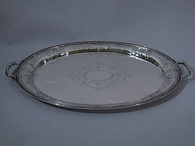 Gorham Maintenon Sterling Silver Tray 1923